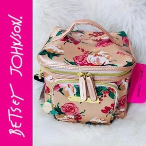 🎀BETSEY JOHNSON Floral Insulated Lunch Tote/Bag